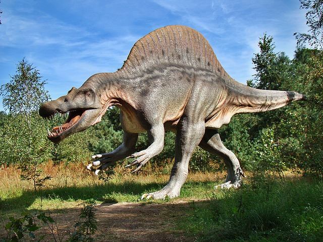 model dinosaura