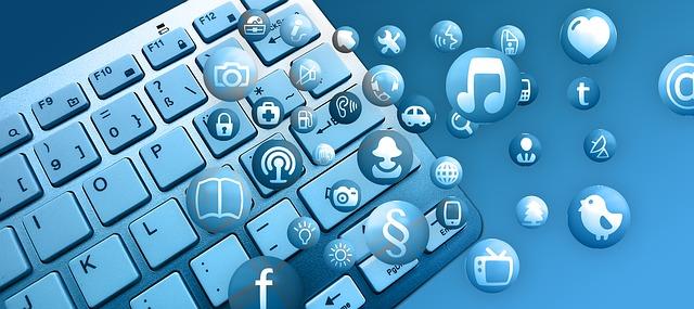 klávesnice a ikony