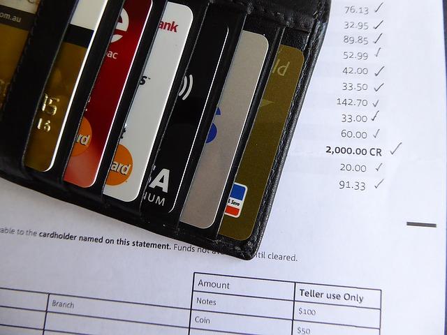 peněženka na faktuře