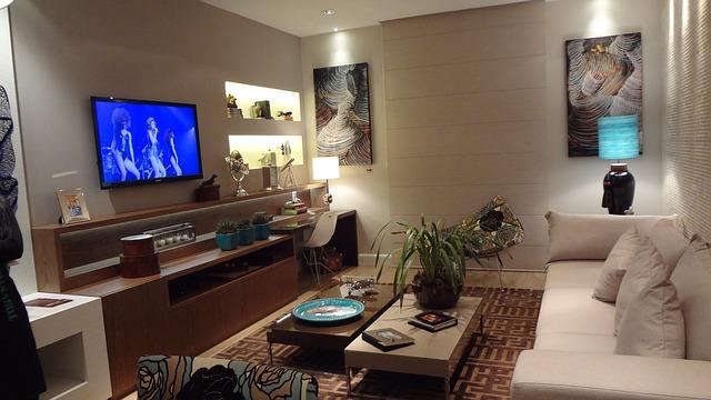 televize v pokoji