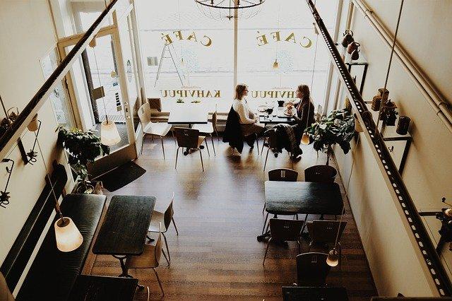 modní kavárna